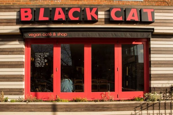 The cafe had to close on the busiest day of the week (c) Black Cat Cafe on Facebook