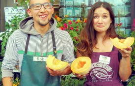 PCC actively partners with local organic farmers like Walchli Organics, a cantaloupe and watermelon producer in Hermiston, Oregon