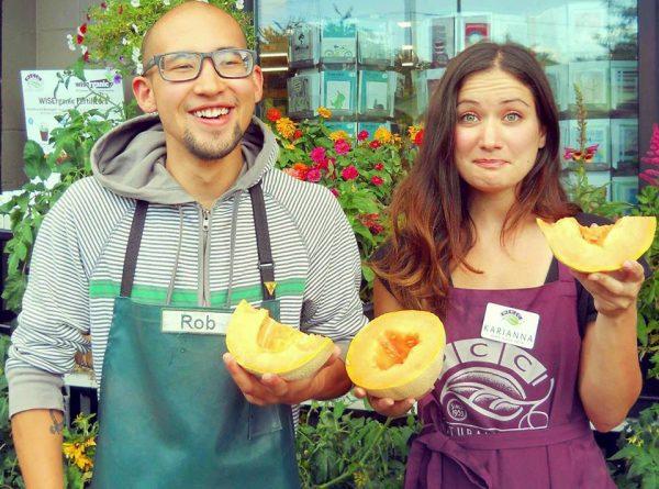 PCC actively partners with local organic farmers like Walchli Organics, a cantaloupe and watermelon producer in Hermiston, Oregon