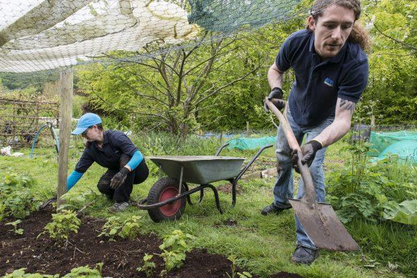 BITC members completing community work
