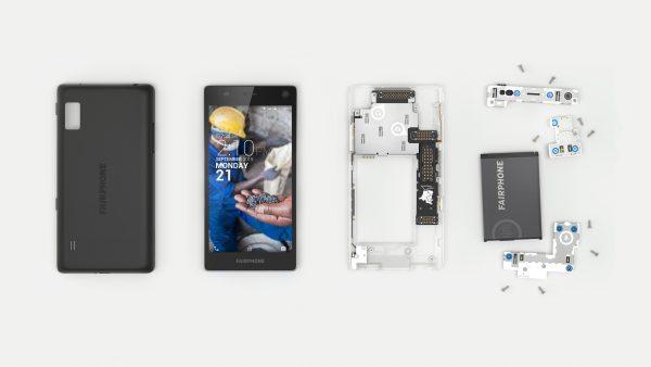 The Fairphone 2 has a modular design, making it easy to repair