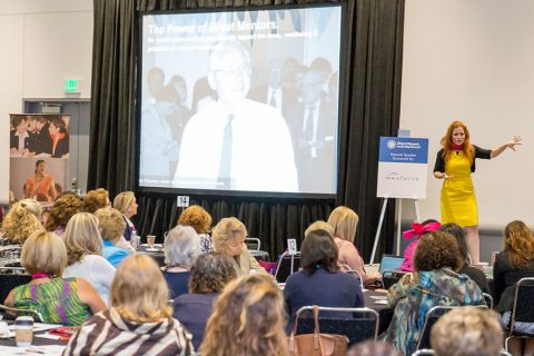 Ingrid Vanderveldt, CEO of Empowering a Billion Women by 2020, discussed women leadership lessons at the 2015 Global Women's Leadership Forum in Denver.