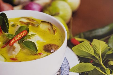 Picture of a Vegetarian Thai Green Curry