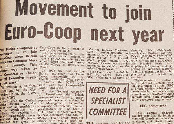 Euro Coop article