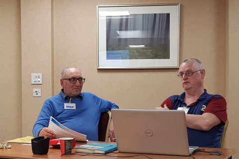 Richard Pearl and Mick O'Sullivan