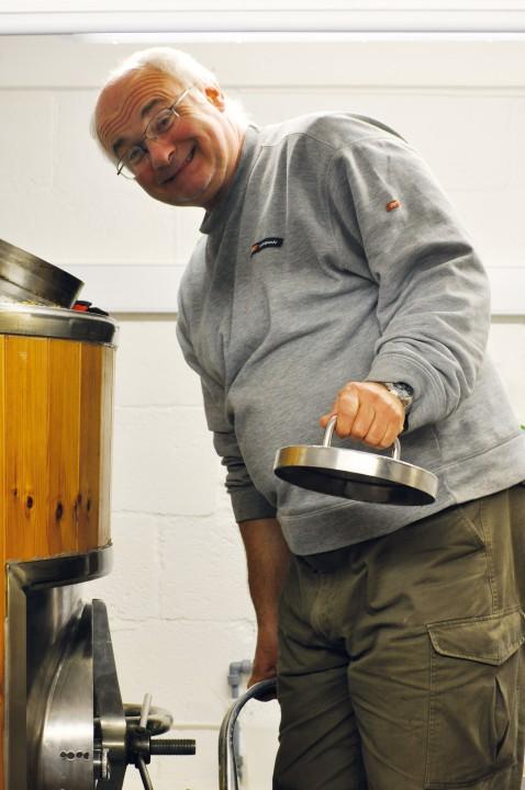 Head brewer Greg Towning