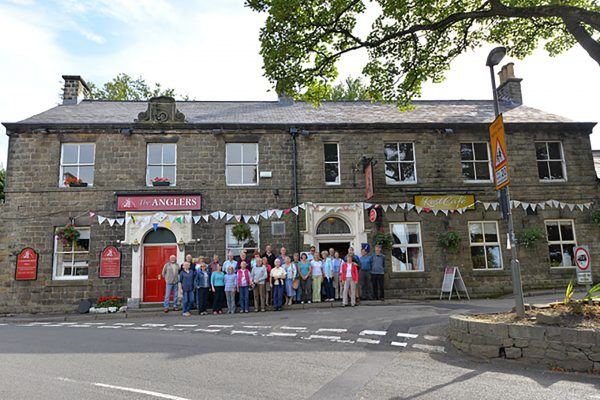 Locals saved the Angler's Rest as a village hub with a community shares issue