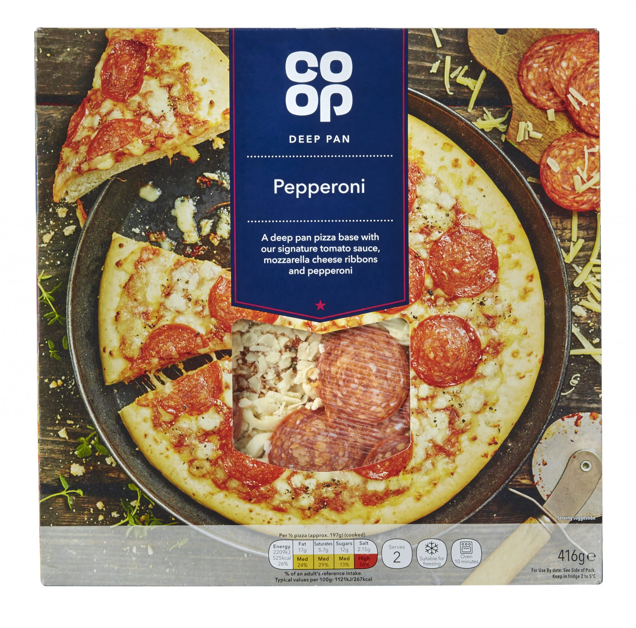 Co Op Group Replaces Polystyrene Pizza Discs With Recyclable