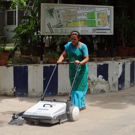 Street cleaner India