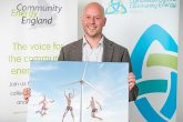 YnNi Teg co-op accepts the Community Energy Photo award