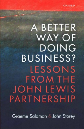 A Better Way of Doing Business - cover