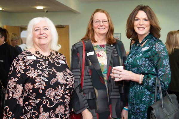 Elaine Dean, Barbada Rainford and Debbie Robinson