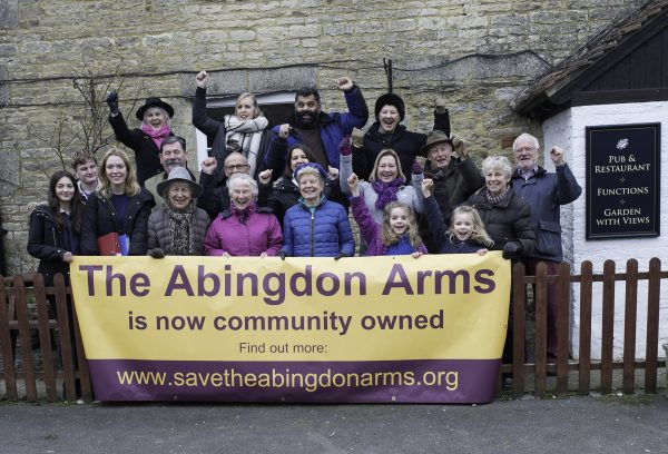 Villagers led a six-month campaign to save the pub
