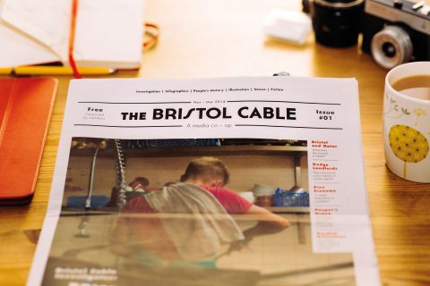 The Bristol Cable launched in 2013, following public consultations and workshops