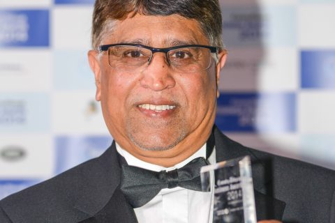 Ali Kurji, chief executive at Heart of England with his award. (Image: Coventry Telegraph)