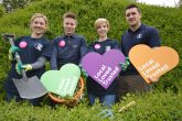 Staff from Lincolnshire Co-op prepare for the Big Co-op Clean