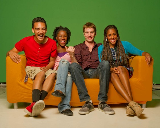 The cast of Biz Kid$