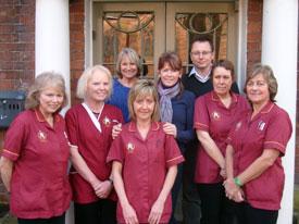 Team members at Bridgnorth Home Care Co-op