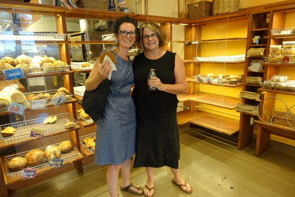 Debbie and Cathy from the Cheese Board Arizmendi Association