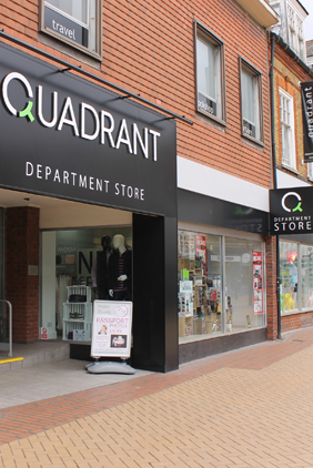 Chelmsford Quadrant department store in Moulsham Street