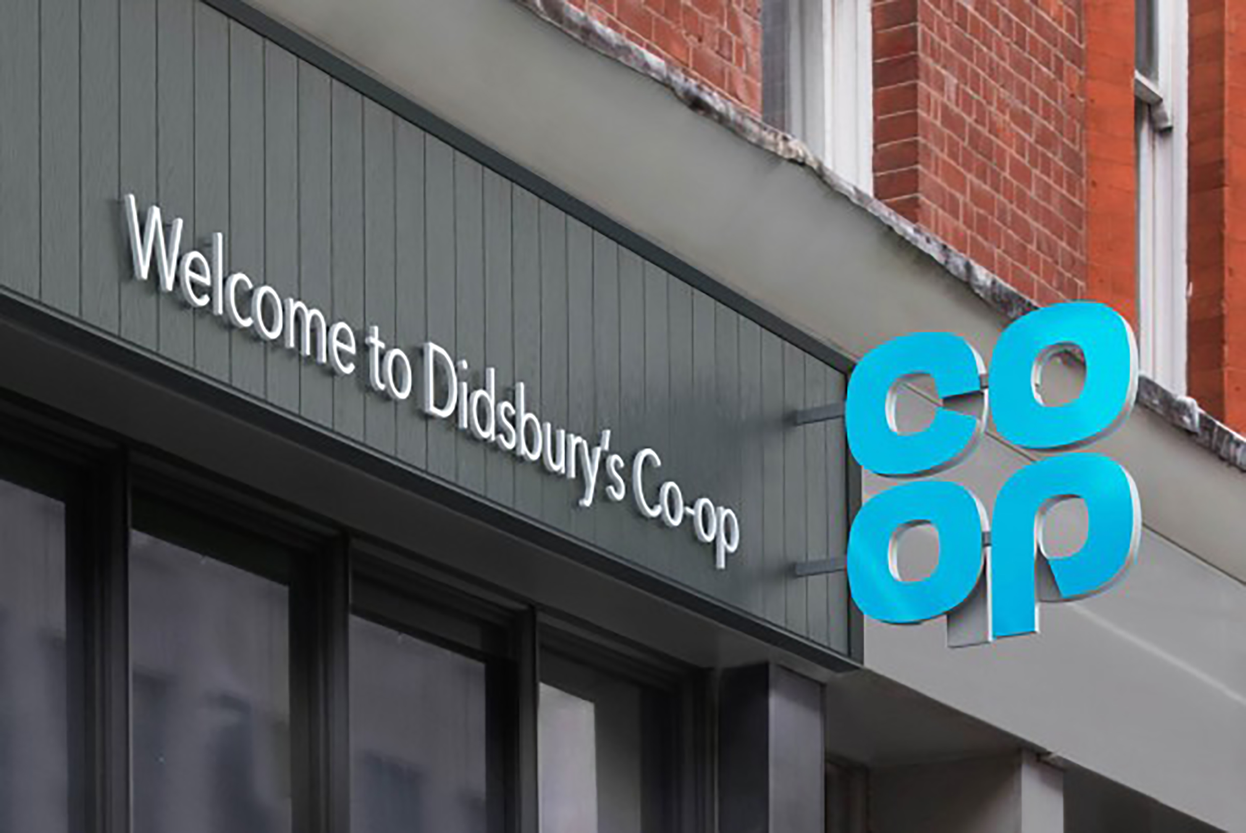 The Co-op's new logo reverts to its most well known visual identity
