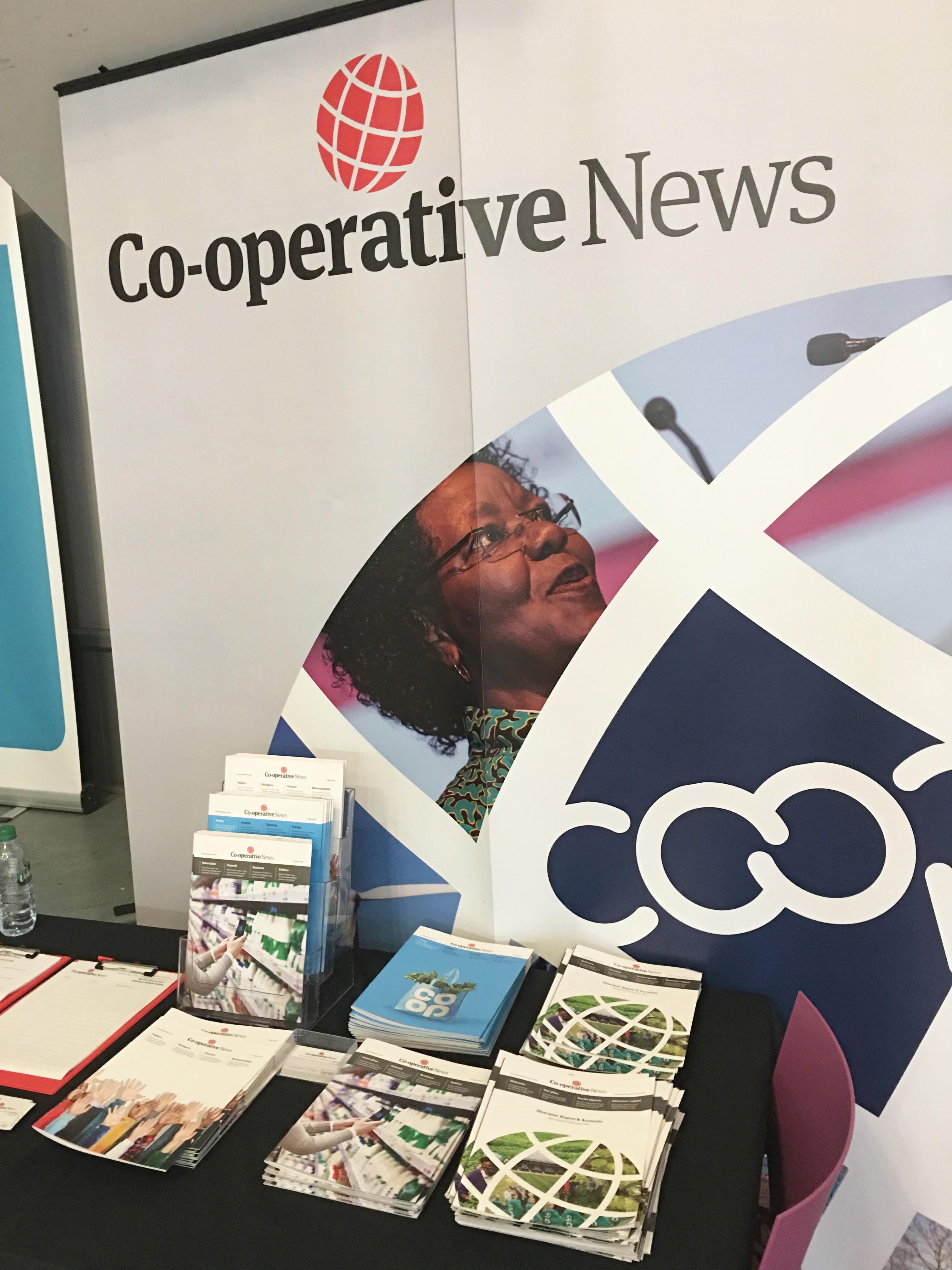 Co-op News stand Congress 2016