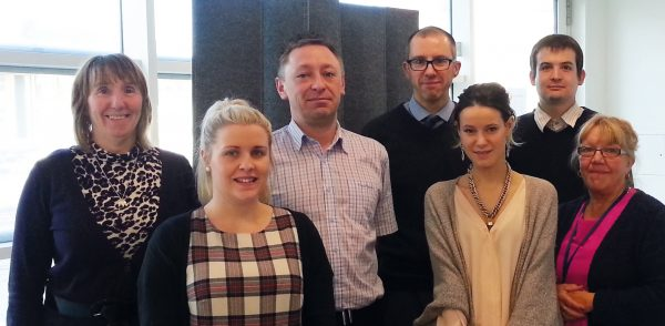 Staff at the Co-operative Credit Union