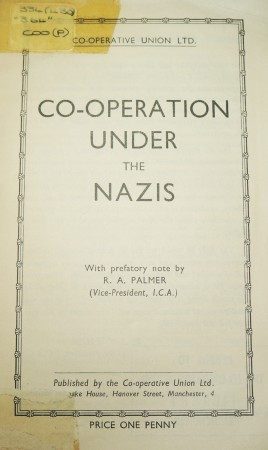 Co-operation under the Nazis