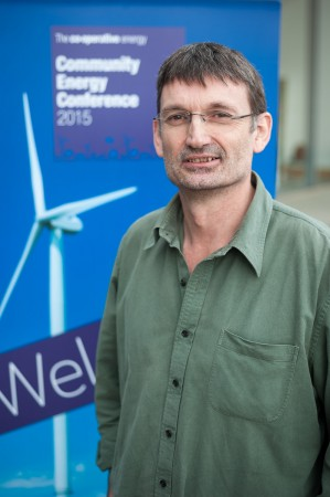Peter Capener MBE, co-founder and chair of Bath & West Community Energy. Photo: Andrew Walmsley