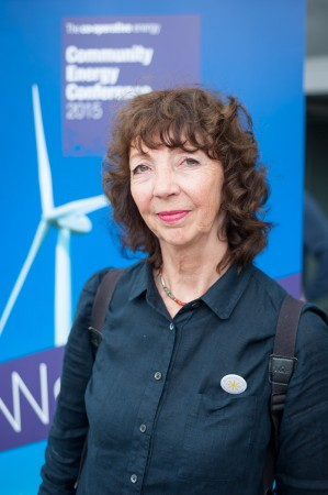 Jane Fitzpatrick, volunteer, Repower Balcombe. Photo: Andrew Walmsley