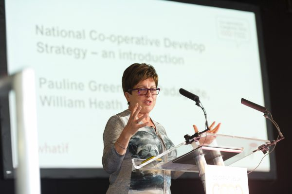 Dame Pauline Green introduces the National Co-operative Development Strategy at Congress 2016
