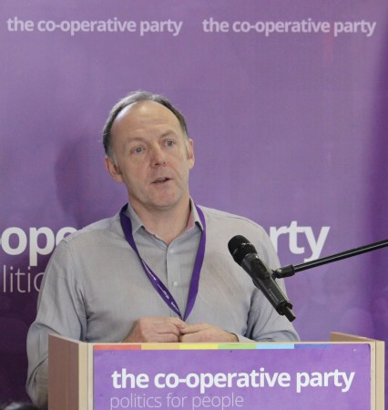 Paul Monaghan talks about the Fair Tax Mark at the Co-operative Economy conference in London