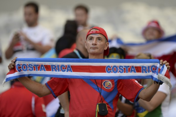 People from many other nationalities have identified with the Costa Rican team, lending their support and solidarity (image: Celso Pupo / Shutterstock.com)