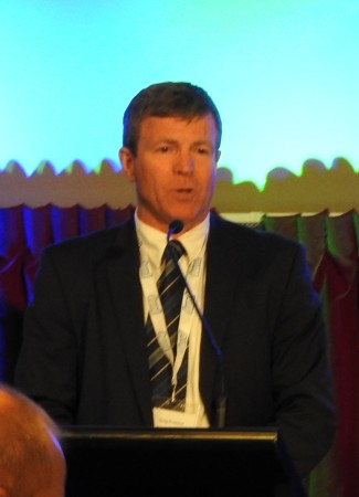 Craig Presland at the 2016 Cooperative Business NZ awards