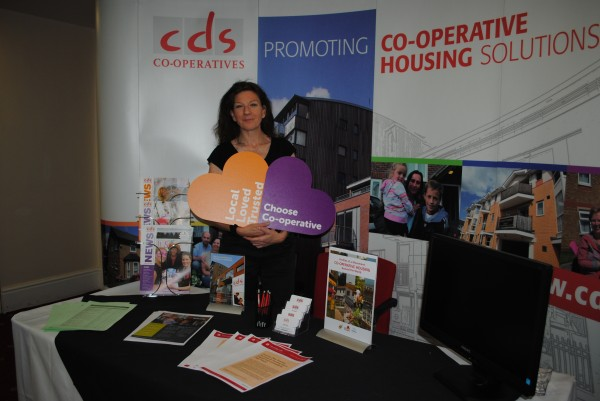 Linda Wallace, new chief executive of CDS Co-operatives at the CCH conference in Manchester.