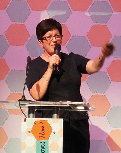Dame Pauline Green speaking on co-operative identity at Congress 2014