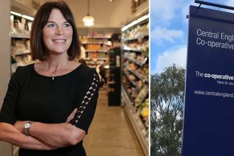 Debbie Robinson has been appointed chief executive at Central England Co-operative