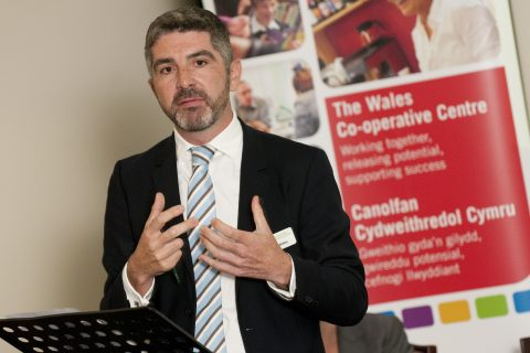 Derek Walker, chief executive of the Wales Co-operative Centre