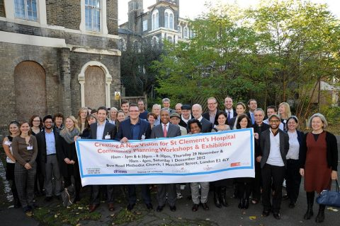 St Clement's is the first Community Land Trust in London, and the largest in the UK
