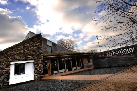 Ecology's purpose-build eco-building in Silsden, West Yorkshire