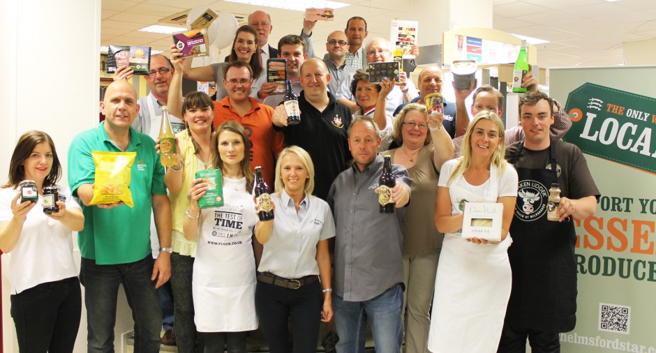 Chelmsford Star works with around 40 local producers in Essex