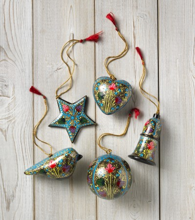 Some of the decorations available