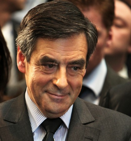 Conservative candidate, François Fillon won the primary election in November, with 66% of the vote.