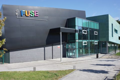 The Fuse community centre in Partington, Greater Manchester. Sites with solar panels will receive both lower electricity bills and a reduced carbon footprint