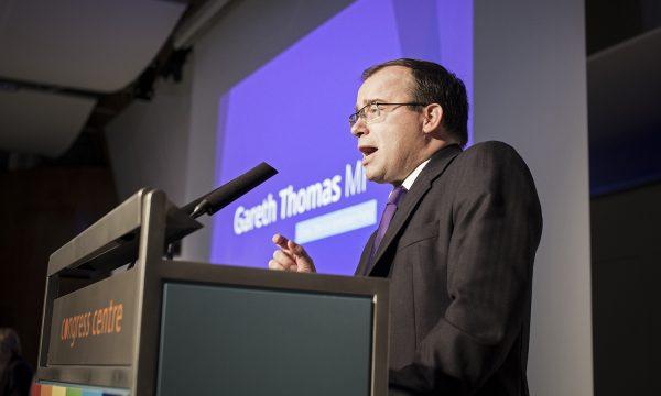 Gareth Thomas MP, Co=operative Party chair