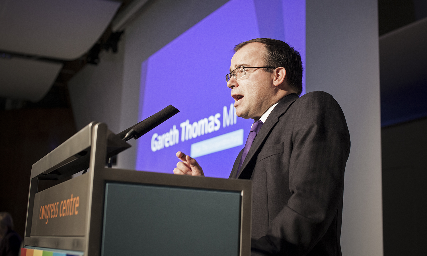Labour MP and Co-operative party chair Gareth Thomas (Image: Co-op Party / Thomas Butler)