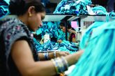 Workers at a garment factory in Delhi, India Image: ETI/Claudia Janke