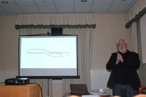 Mark Gale from the Gloucestershire Gateway Trust speaking at Future Co-ops 2015