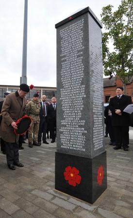 Greengate memorial, Salford (Photograph: Eddie Garvey / Manchester Evening News)