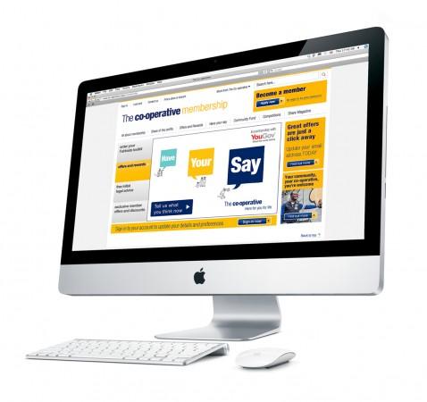 HYS HomePage iMAC